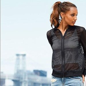 Victoria's Secret Sport Mesh Zip-Up Jacket